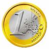 Diferentes monedas de 1 euro