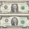 Billetes de dólares hermano y hermana