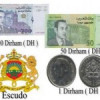 Cambiar euros a dirhams marroquí