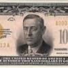 """Billete de 100 mil dólares """"Certificado de Oro"""""""