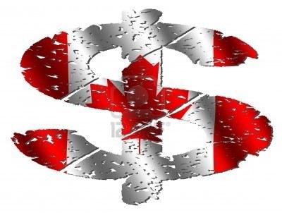 Cuando cambias dolares canadienses por euros