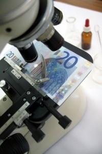Billetes Euros Falsos