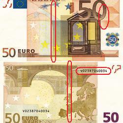 Billetes-de-euro-falsos