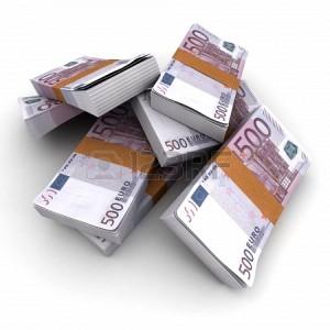 Billetes de 500 euros en circulación