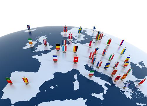 países europa